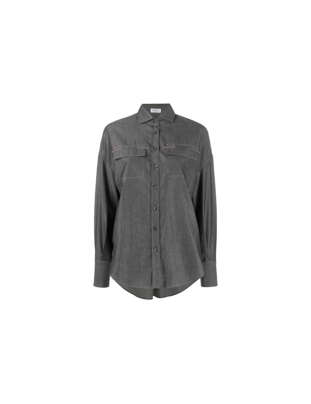 Chemise à ornement Brunello Cucinelli - BIG BOSS MEGEVE