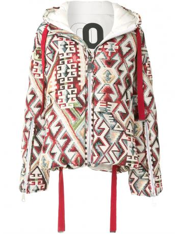 Printed puffer jacket Khrisjoy - BIG BOSS MEGEVE