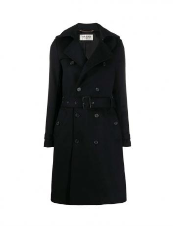 Wool and cashmere coat Saint Laurent - BIG BOSS MEGEVE