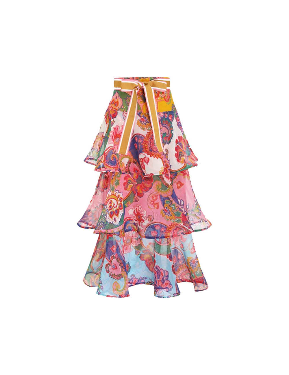 Lovestruck Skirt with flounces Zimmermann - BIG BOSS MEGEVE
