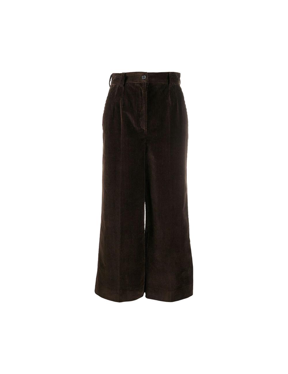 Crop velvet pants Dolce Gabbana - BIG BOSS MEGEVE
