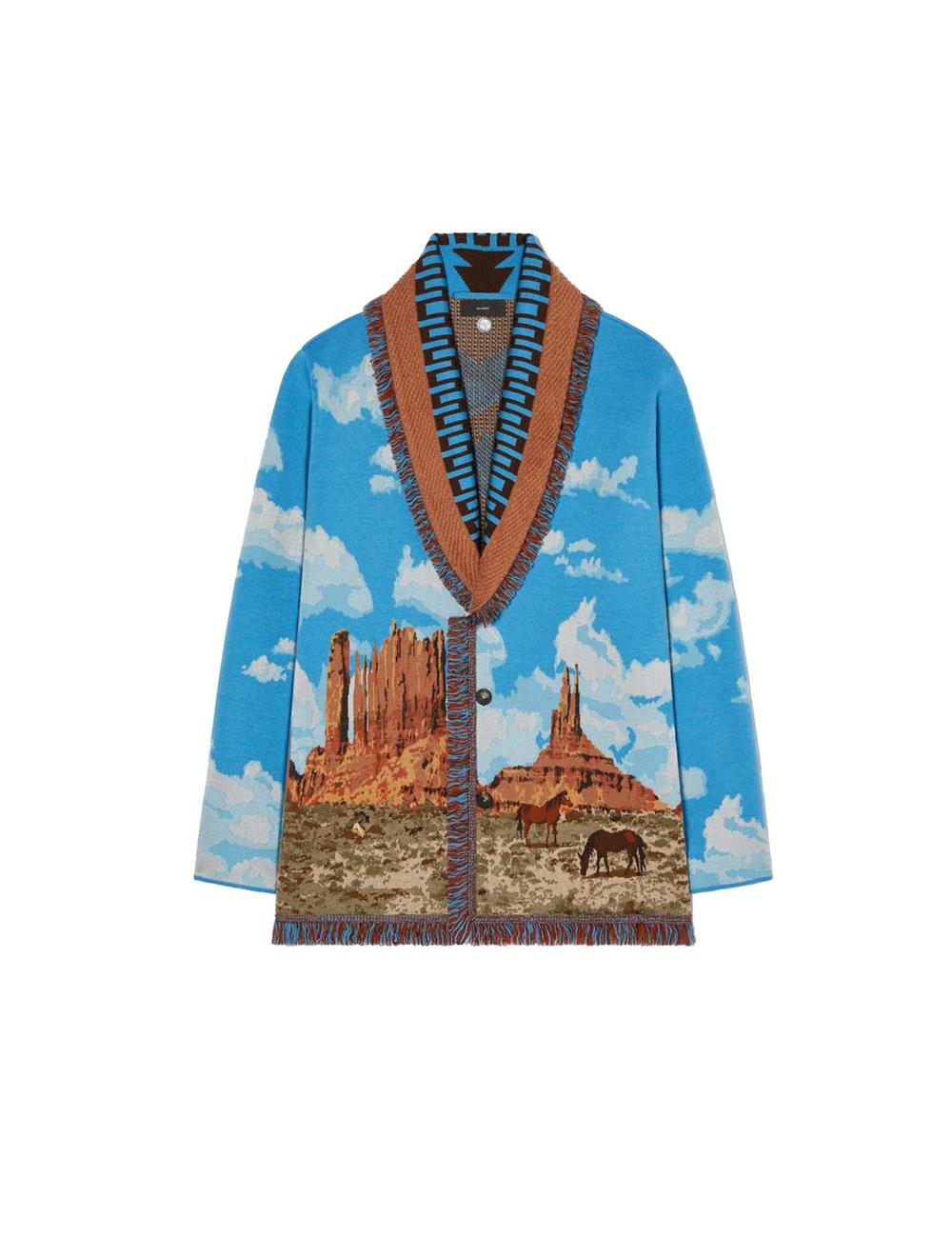 Monument valley cardigan Alanui - BIG BOSS MEGEVE