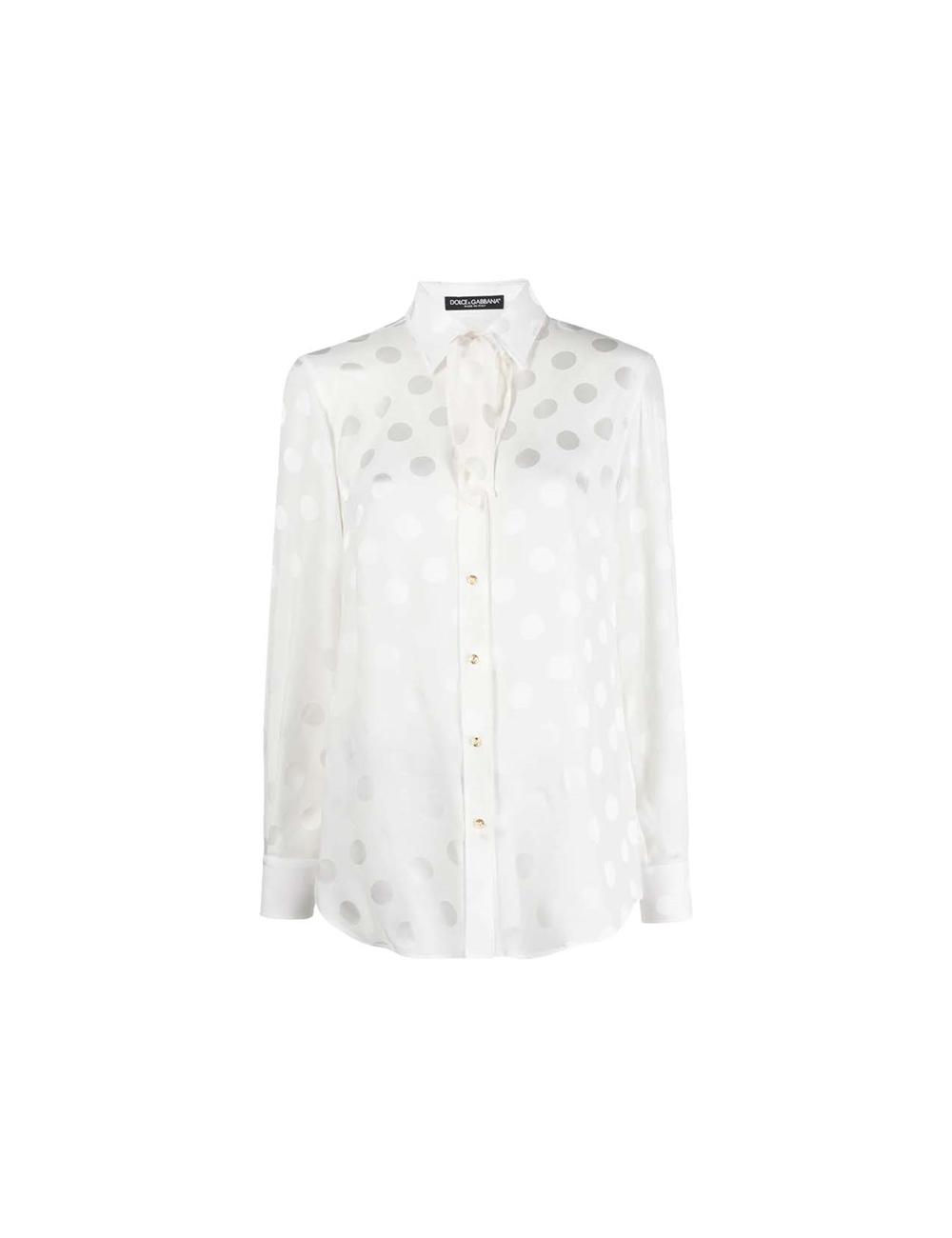 Blouse with dots Dolce & Gabbana - BIG BOSS MEGEVE