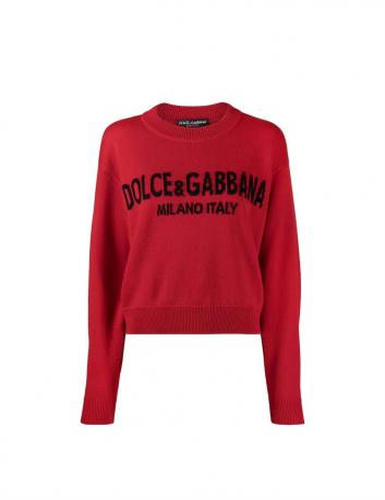 Cashmere logo sweater Dolce & Gabbana - BIG BOSS MEGEVE