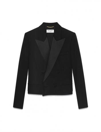 Cropped blazer Saint Laurent - BIG BOSS MEGEVE